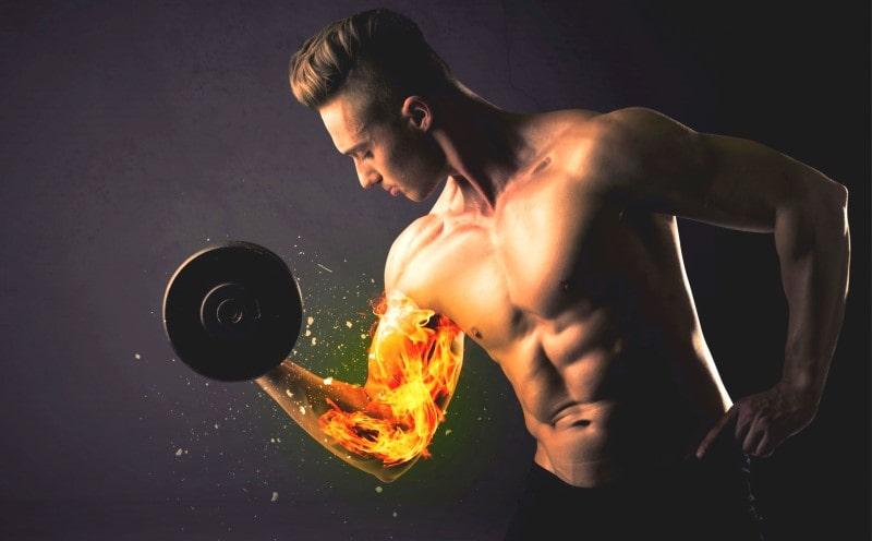 Abnehmen durch Krafttraining ist sinnvoll, denn es verbrennt eine Menge Fett
