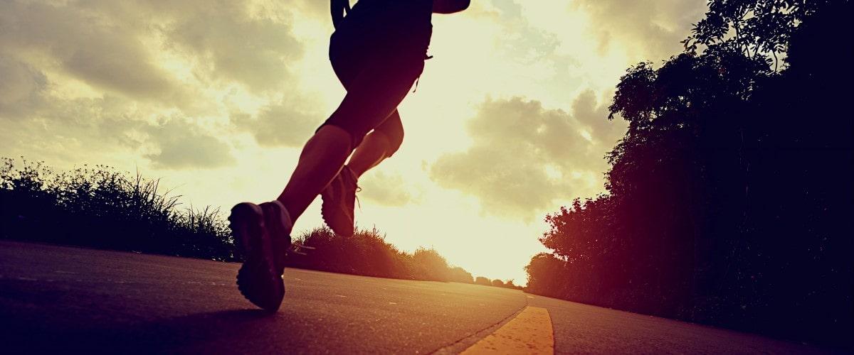 Laufen und Joggen