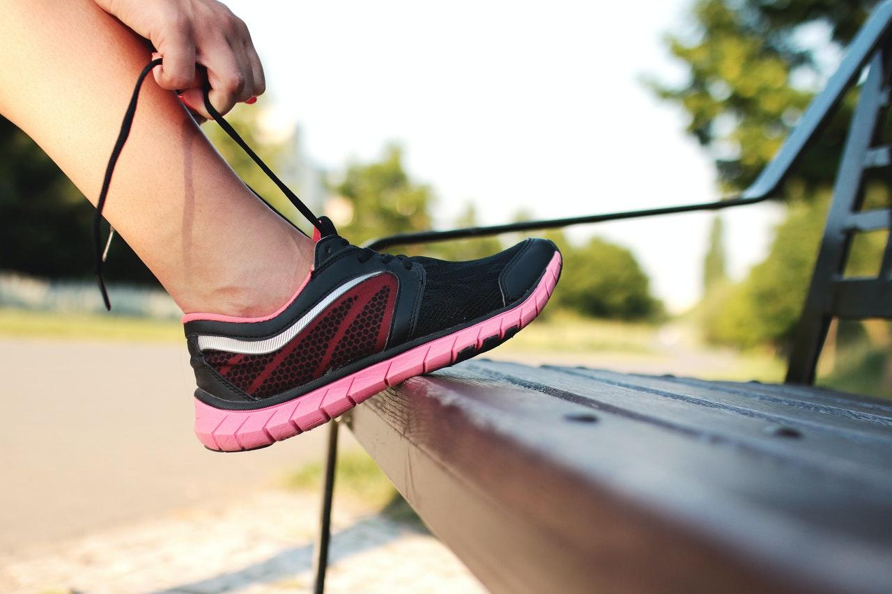 Joggen für Anfänger - richtige Laufschuhe sind wichtig