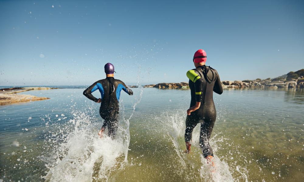 Schwimmen im Triathlon