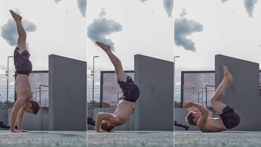 03 - Handstand abrollen - ©Stephan Tischmann